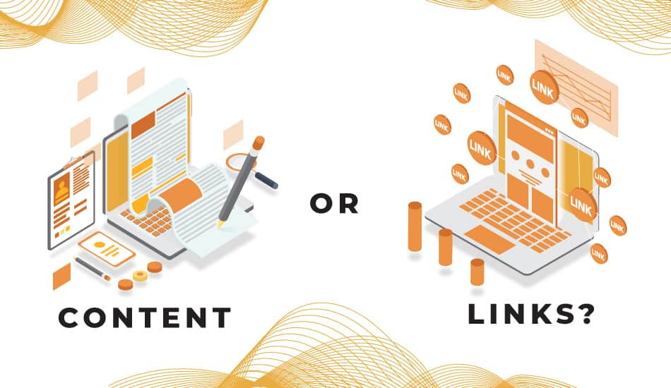 Content vs Links